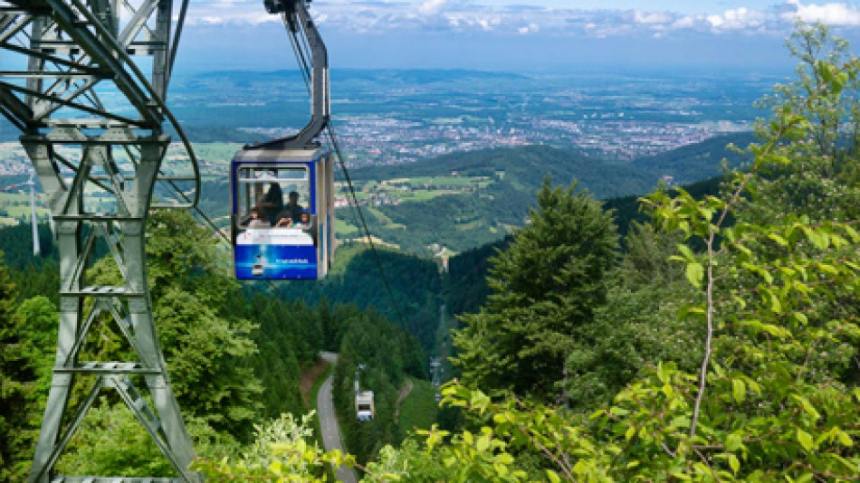 Black Forest cable car