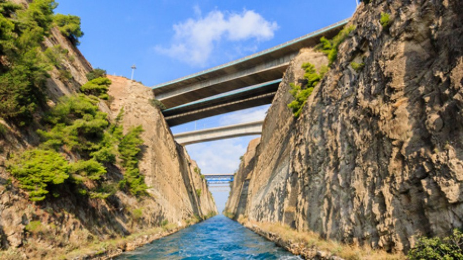 Corinth Canal excursion photo