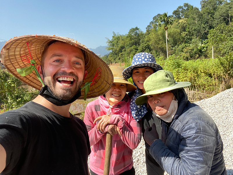 James' Vietnamese adventure