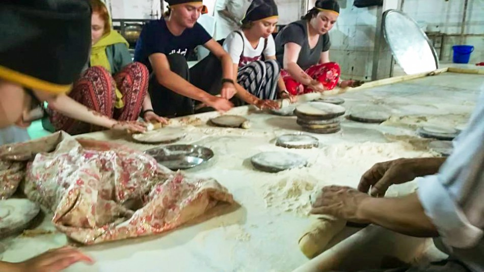 Chapati making