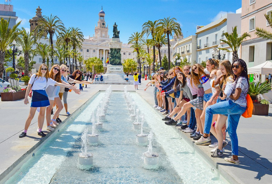 Cadiz fountains