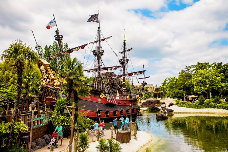 Disneyland Paris Pirates of the Caribbean